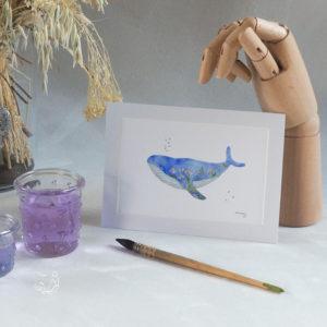 Taille baleine turquoise 1318