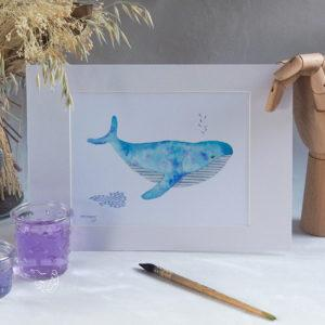 Taille baleine turquoise 2030