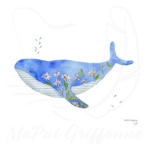 Baleine marguerite